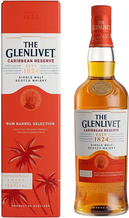 The Glenlivet Caribbean Reserve Single Malt Whisky 70cl + FREE DELIVERY