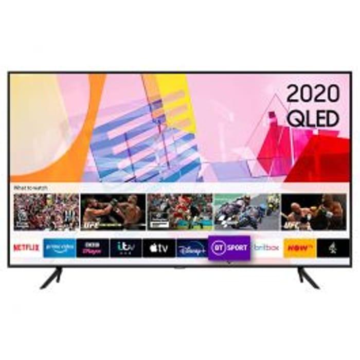 """Samsung QE50Q60TA 50"""" QLED 4K Quantum HDR Smart TV"""
