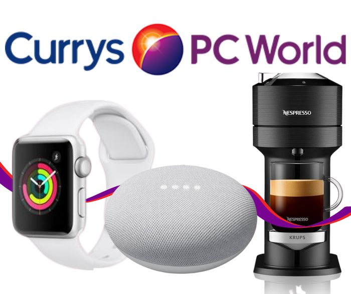 Currys Cyber Monday 2020 Deals - 4K TV's, Apple Watch, Coffee Machines & MORE!