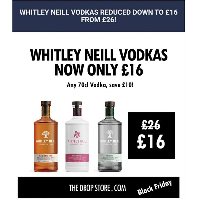 Whitley Neill Vodkas