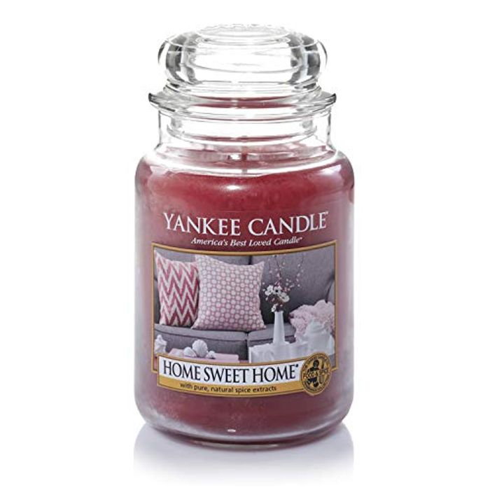 Yankee Candle Scented Candle, Home Sweet Home Large Jar Candle