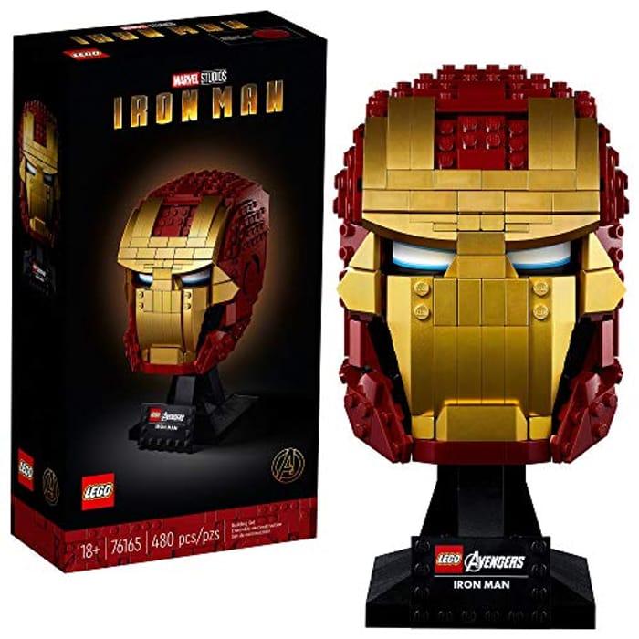 BEST EVER PRICE! LEGO 76165 Marvel Iron Man Helmet