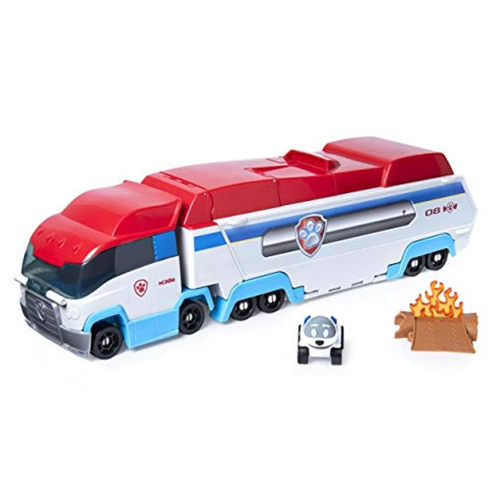 Paw Patrol 6054869 Diecast Launch & Hauler, Multi Colour