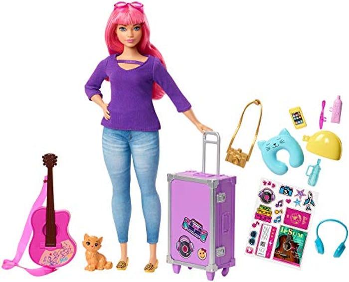 Barbie Daisy Doll and Travel Set *4.8 STARS*