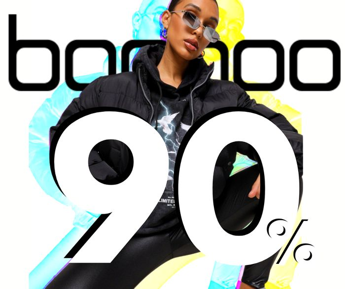 Boohoo Black Friday Sale - Up to 90% off Absolutely Everything!