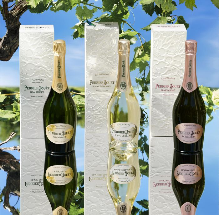 Win Three Bottles of Perrier-Jouet worth More than £130
