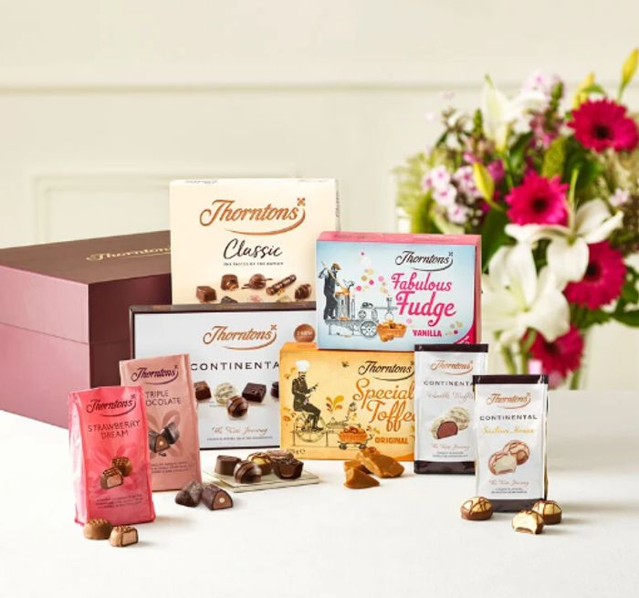 Thorntons Black Friday - Extra 20% Off EVERYTHING Inc Hampers & Gifts!