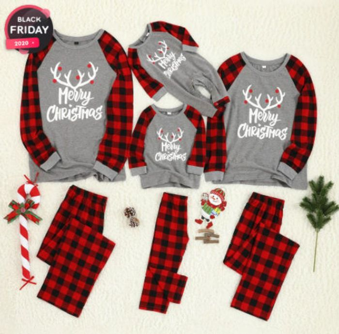 PatPat Black Friday - 70% Off Matching Family Christmas PJ's + 15% Off Code