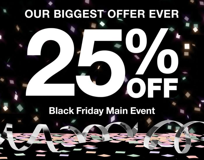 Here's 25% off plus Free Delivery & Checkout Samples