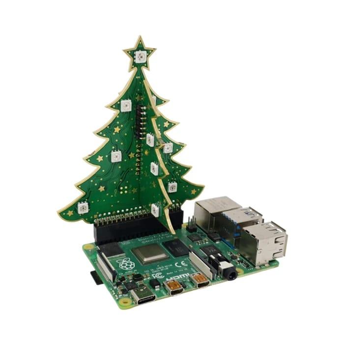 3D RGB Xmas Tree for Raspberry Pi - Only £9!