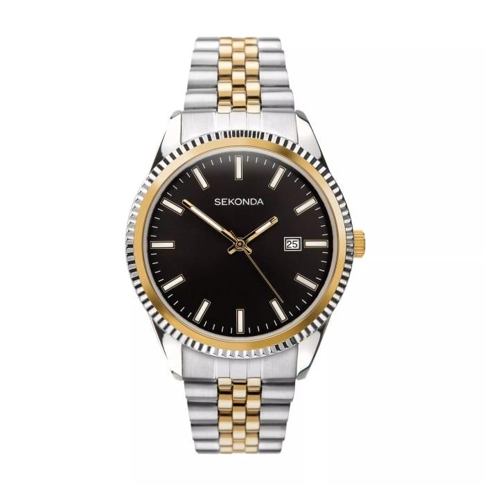 Sekonda Men's Two Tone Bracelet Watch