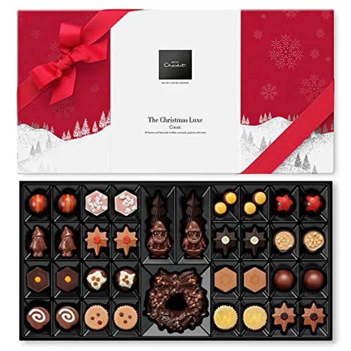 Hotel Chocolat the Christmas Luxe, Classic, 465g