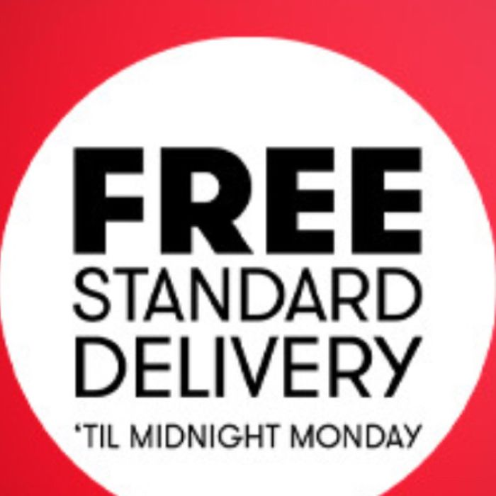 Free Standard Delivery Promotion: On All orders