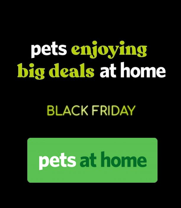 Pets at Home Black Friday Sale