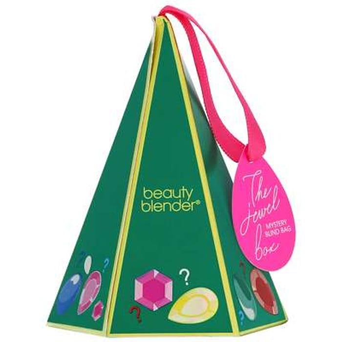 Beautyblender Christmas 2020 the Jewel Box Mystery Blind Bag