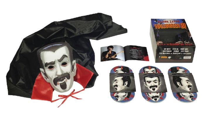 Win Frank Zappas Halloween 81 Box Set