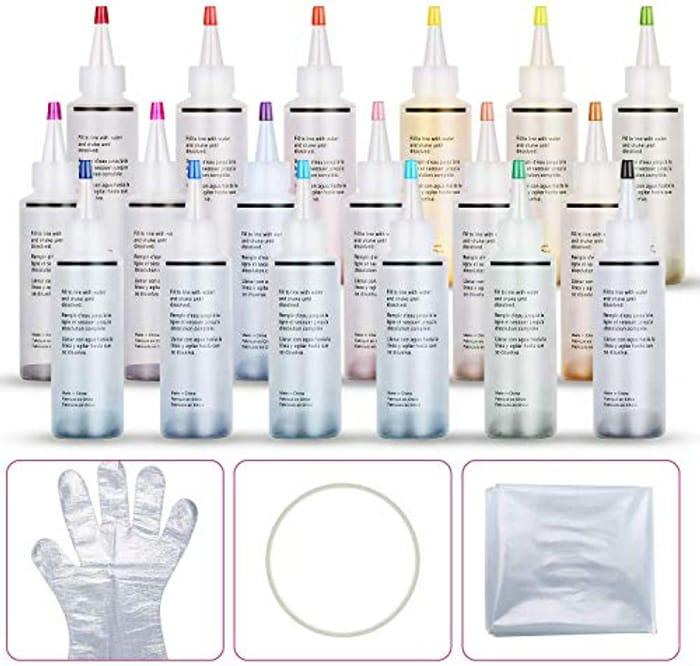 18PCS Tie-Dye Kit