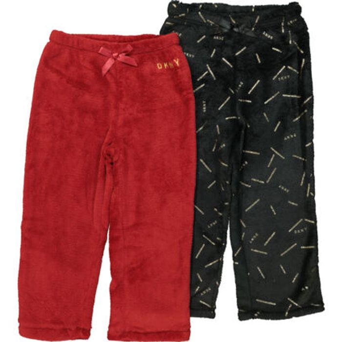 DKNY Black and Red Pyjama Set