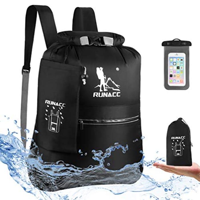 RUNACC Waterproof Dry Bag Backpack 20