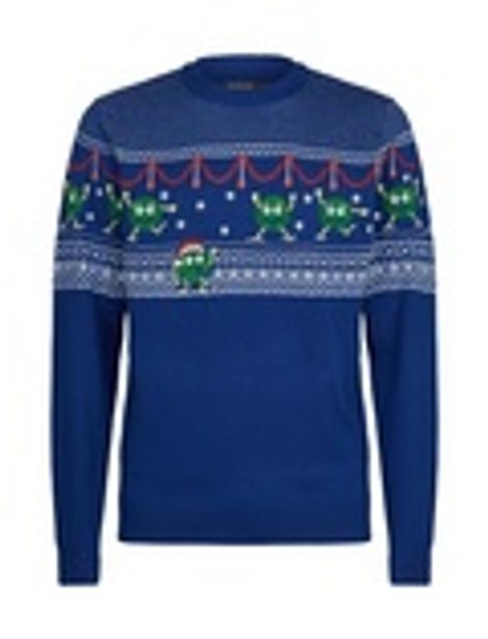 Brussel Sprouts Christmas Jumper