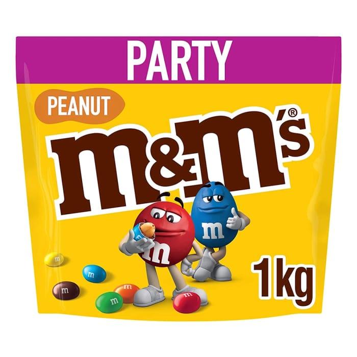 M&M's Peanut Chocolate Pouch 1kg