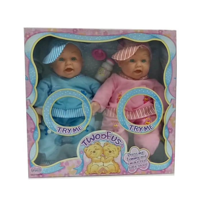 Eli & Ella Talking Twin Dolls
