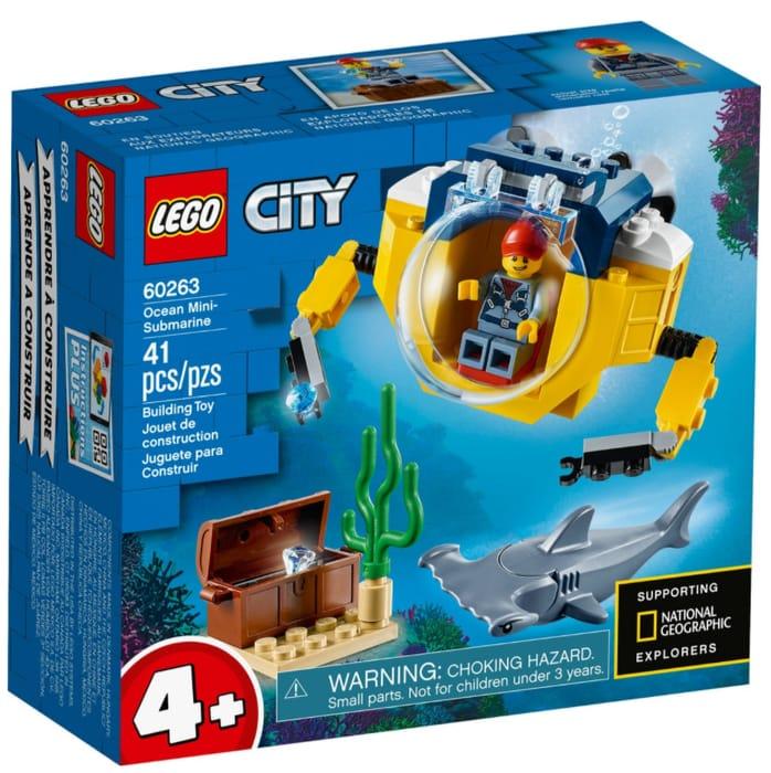 LEGO CITY - Ocean Mini-Submarine **4.8 STARS** (60263)