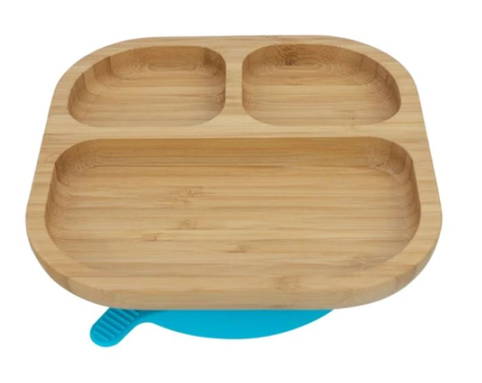 Tiny Dining Children's Bamboo Suction Plate
