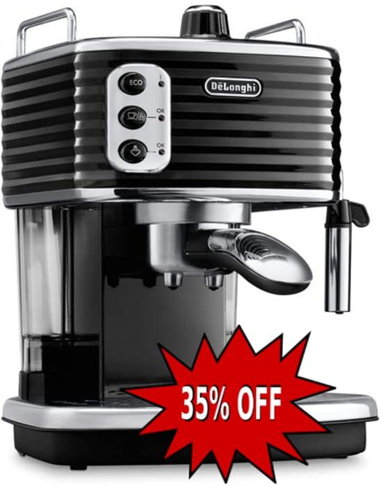 SAVE £80 - De'Longhi Scultura Traditional Barista Pump Espresso Machine