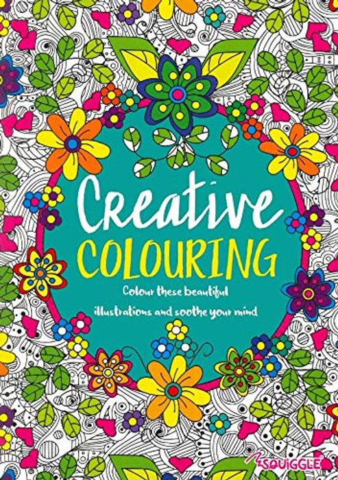 Set of 2 Adult Colouring Books