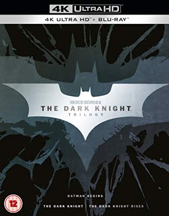 The Dark Knight Trilogy [Batman] [4K Ultra HD] [2012] [Blu-Ray] [2017]