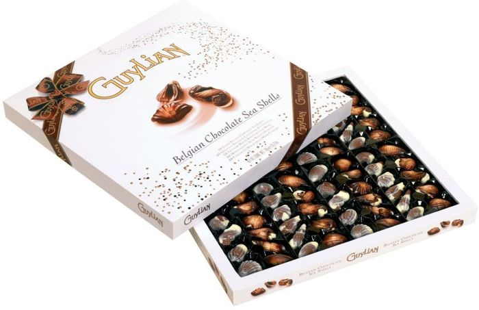 BEST EVER PRICE Guylian Artisan Belgian Chocolate Sea Shells Box 1 KG