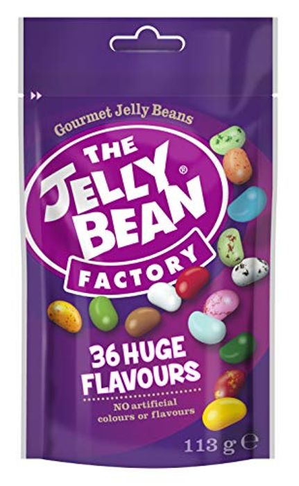 The Jelly Bean Factory 36 Huge Flavours 113 G Pouch