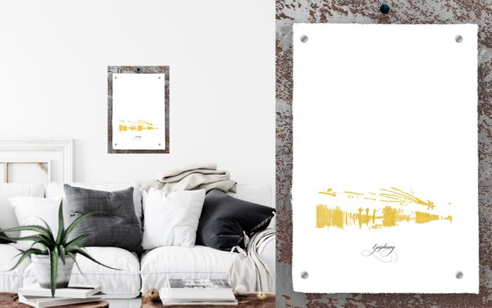 Win Wall Art with Pure Gold