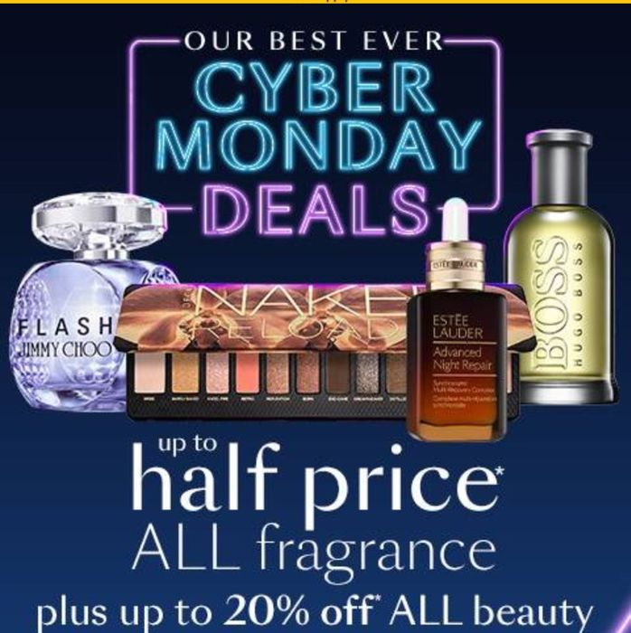 Cyber Monday Deal save up to Half Price on Selected Gifts One Day Only