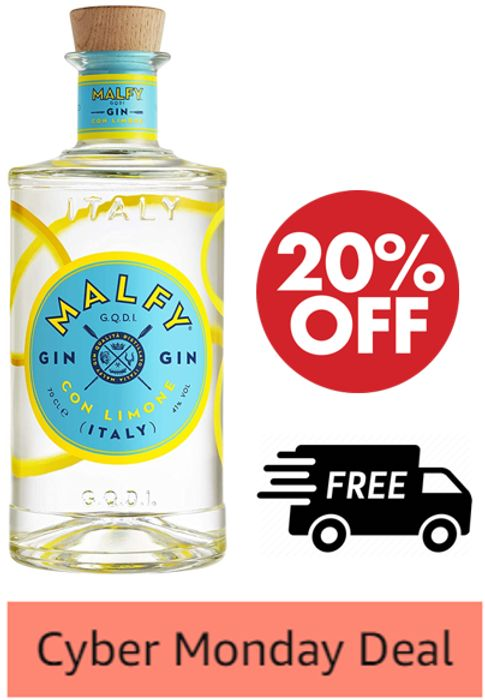 Malfy Con Limone Italian Gin, 70cl + FREE DELIVERY