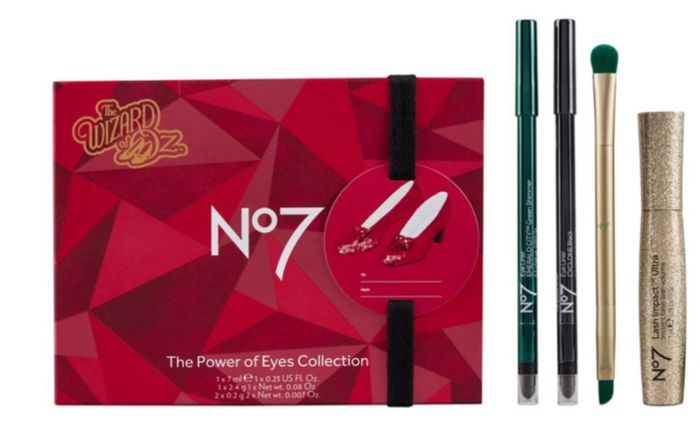 No7 Wizard of Oz Power of Eyes Collection Christmas Gift Set Buy3 Sets Only £28