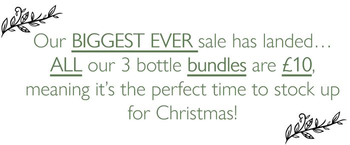 All 3 Product Bundles Just £10