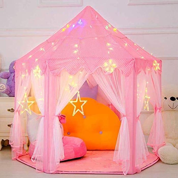 Children Tent with Star Lights
