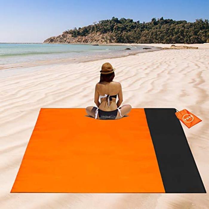 Prime Only Deal!YOYI Beach Blanket,Picnic Blanket 210*175 Cm