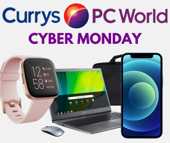 Currys Cyber Monday - Laptops, Smart Bundles, 4K TVs, iPhones, Cooking & MORE!