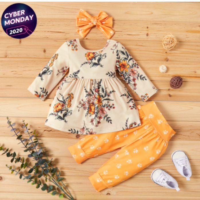 PatPat Cyber Monday - 60% Off Adorable Baby & Toddler Clothing + 15% Off Code