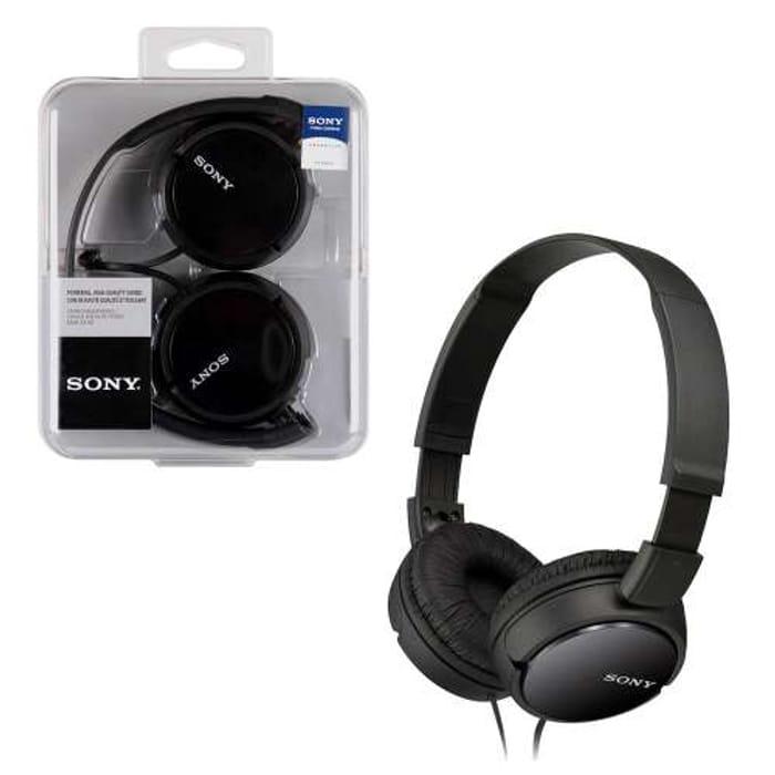 Sony MDR-ZX110 Lightweight Foldable On-Ear Headphones