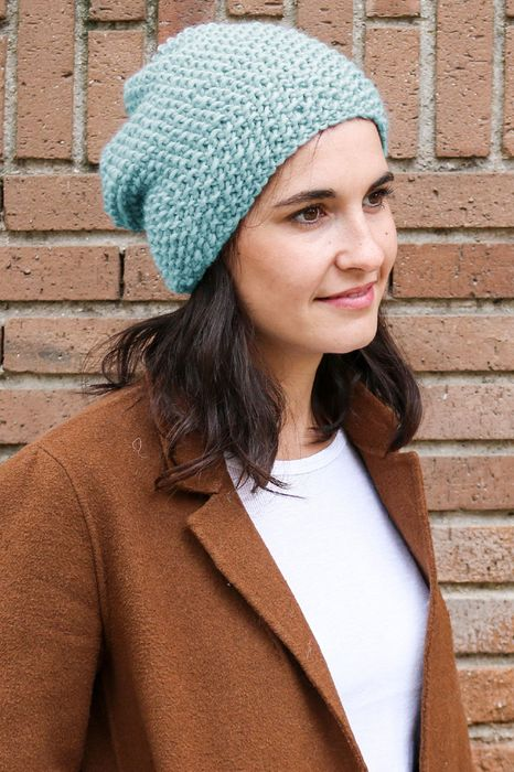 Win a Step-by-Step Beanie Knitting Kit from We Are Knitters