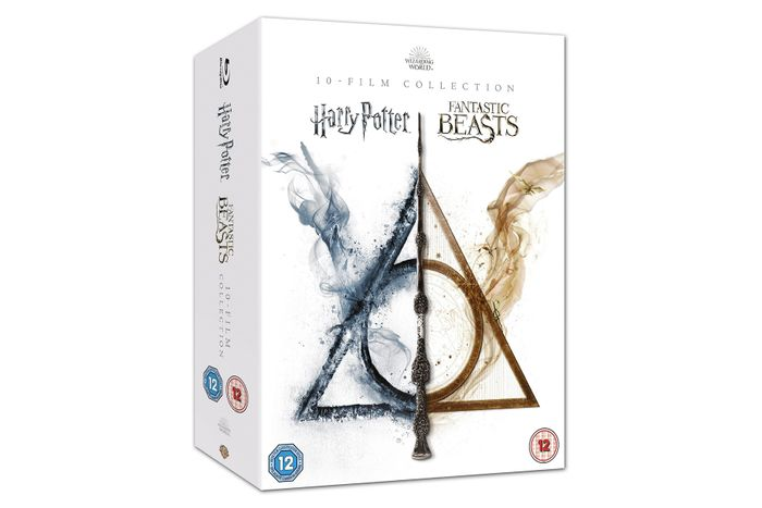 Win a Copy of the Wizarding World 10 Film Blu-Ray Collection!