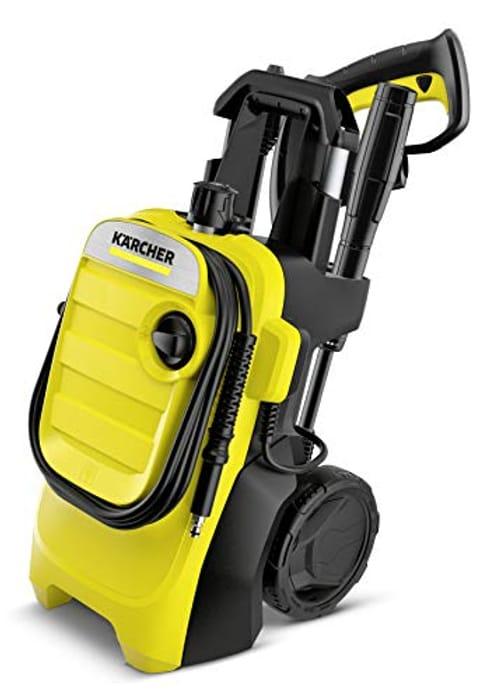 Krcher K 4 Compact Pressure Washer, Yellow/Black, Medium - Only £136!