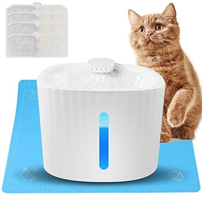 Akface Cat Water Fountain for Drinking