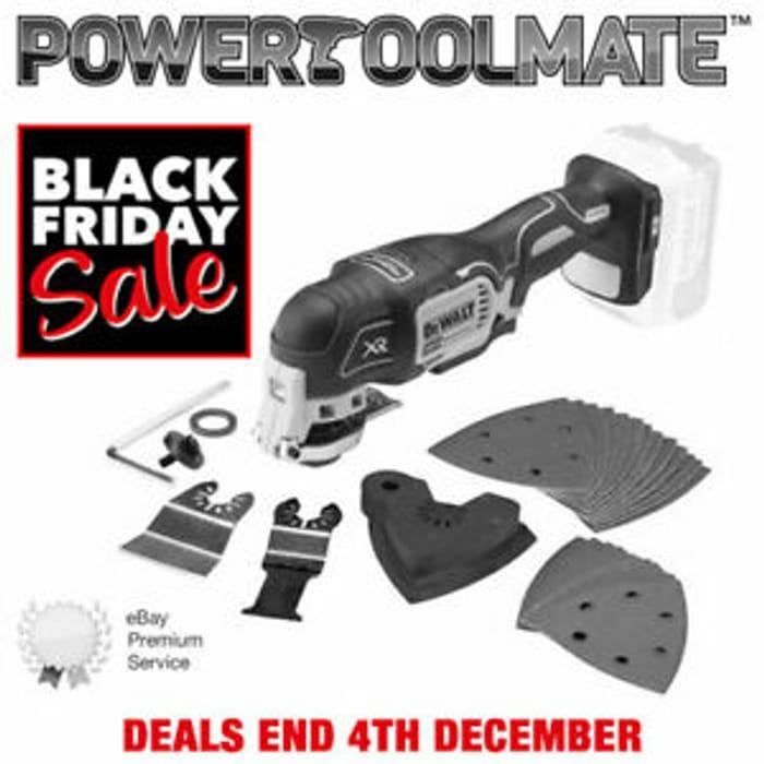 Dewalt Brushless Oscillating Multi Tool Naked Body - Only £92.99!