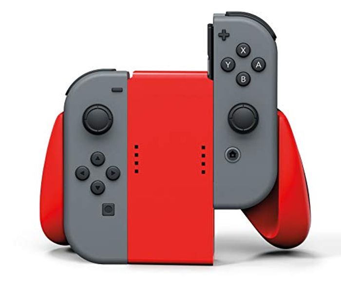 PowerA Joy-Con Comfort Grip for Nintendo Switch - Red - Only £7.8!