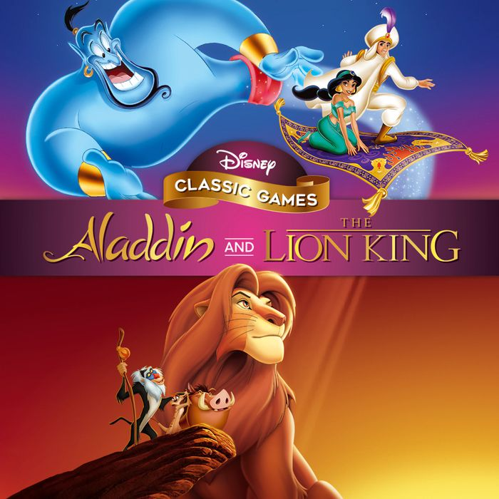 Disney Classic Games: Aladdin and the Lion King - Only £7.49!